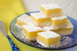 Convection Oven Recipes: Lemon Squares