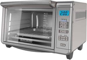 BLACK+DECKER TO3280SSD (6-Slice) Convection Toaster Oven