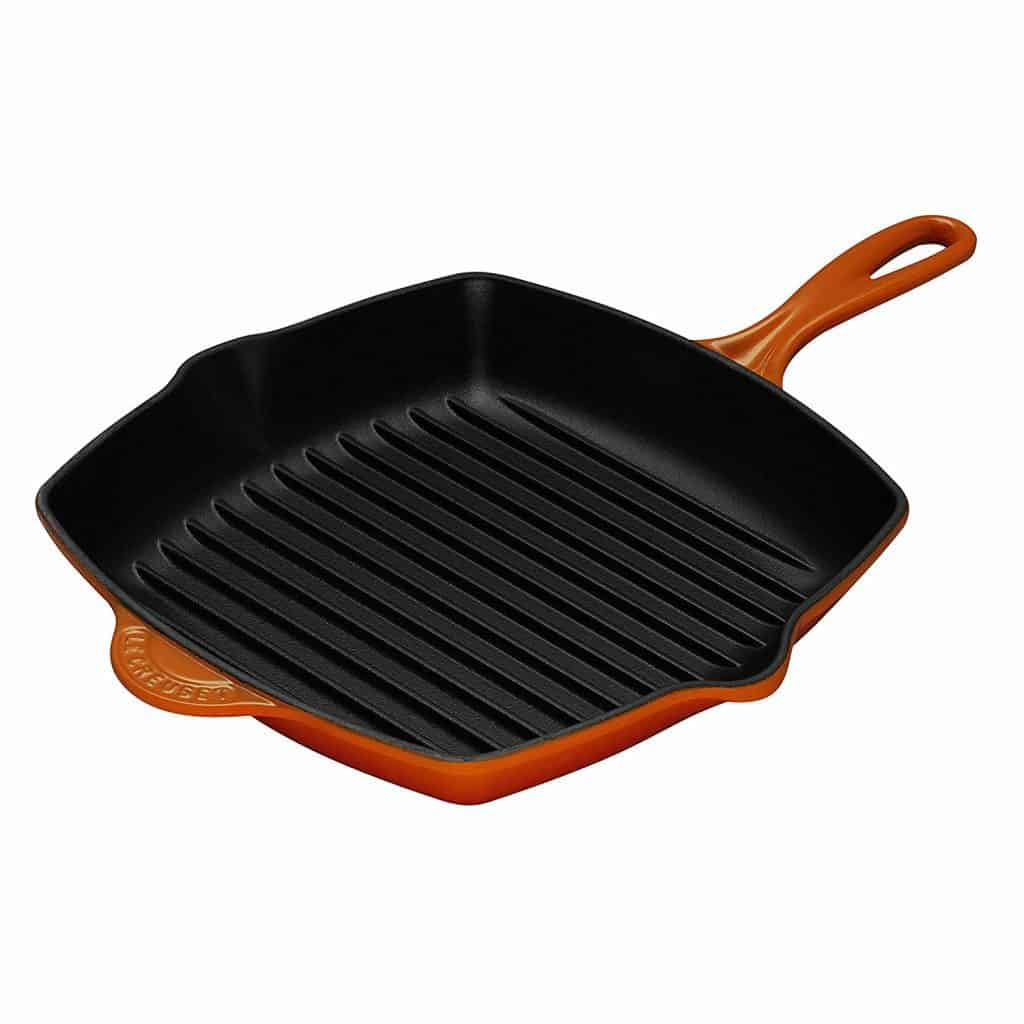 Le Creuset 10-1/4-Inch Square Grill Pan