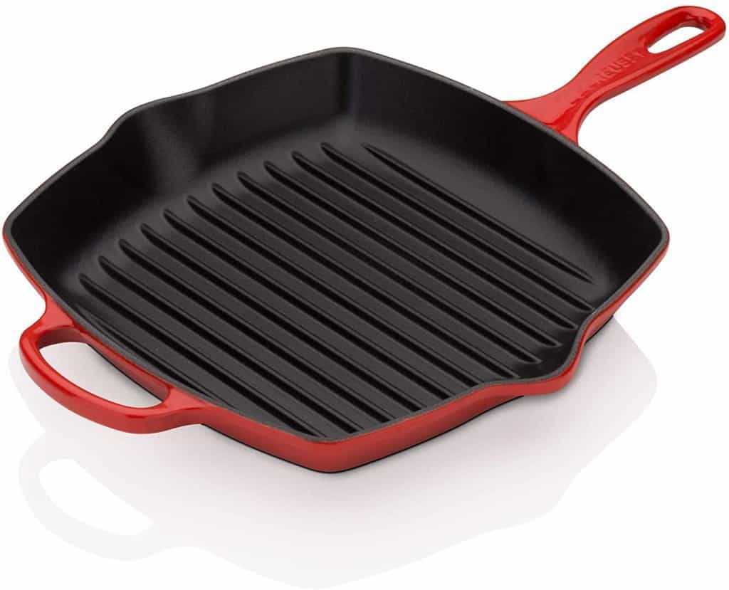 Le Creuset LS2021-2667 Enameled Cast Iron Stovetop Grill Pan