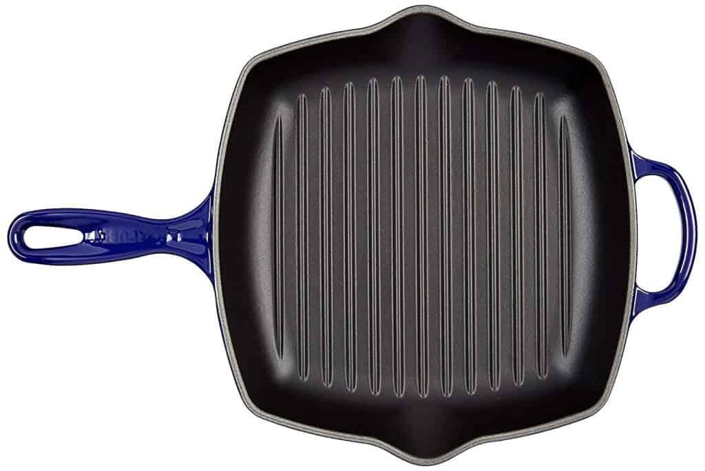 Le-Creuset-of-America-LS2021-2678-Signature-Square-Skillet-Grill