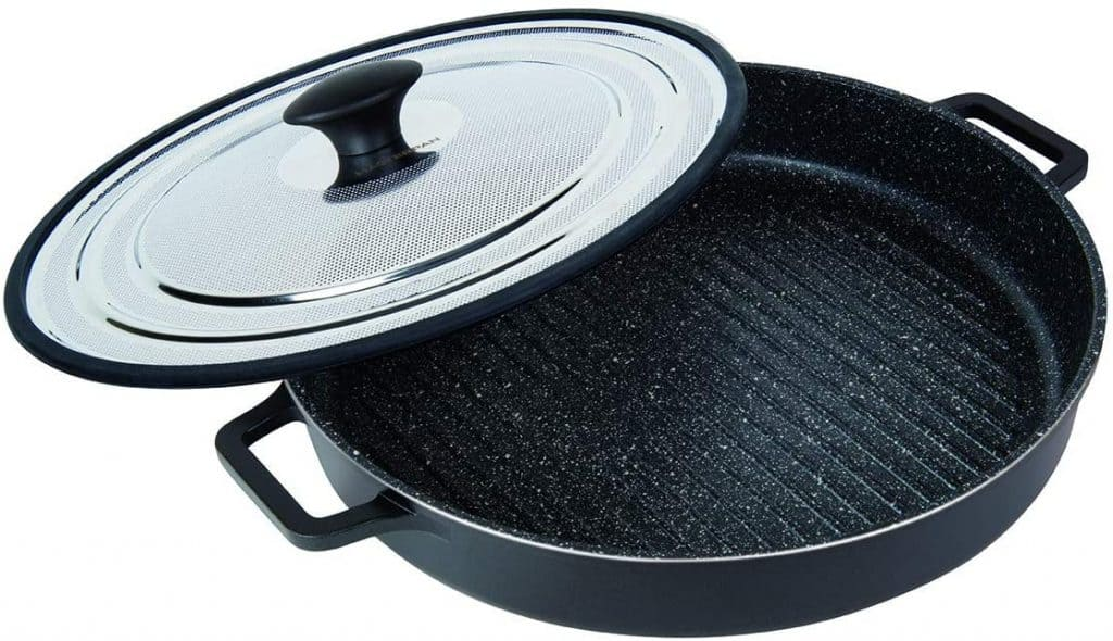 MasterPan Non Stick - best grill-pan for gas stove
