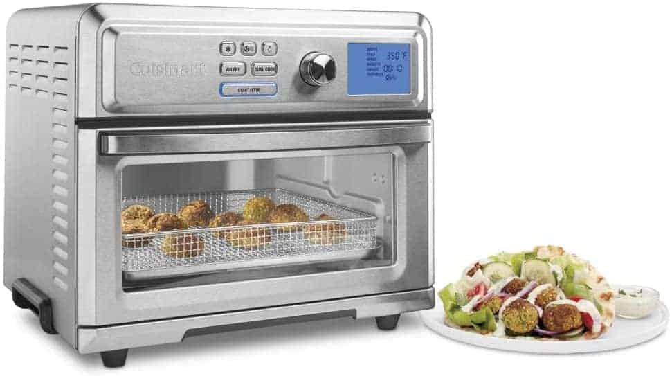 Cuisinart TOA 65 air fryer toaster oven Review