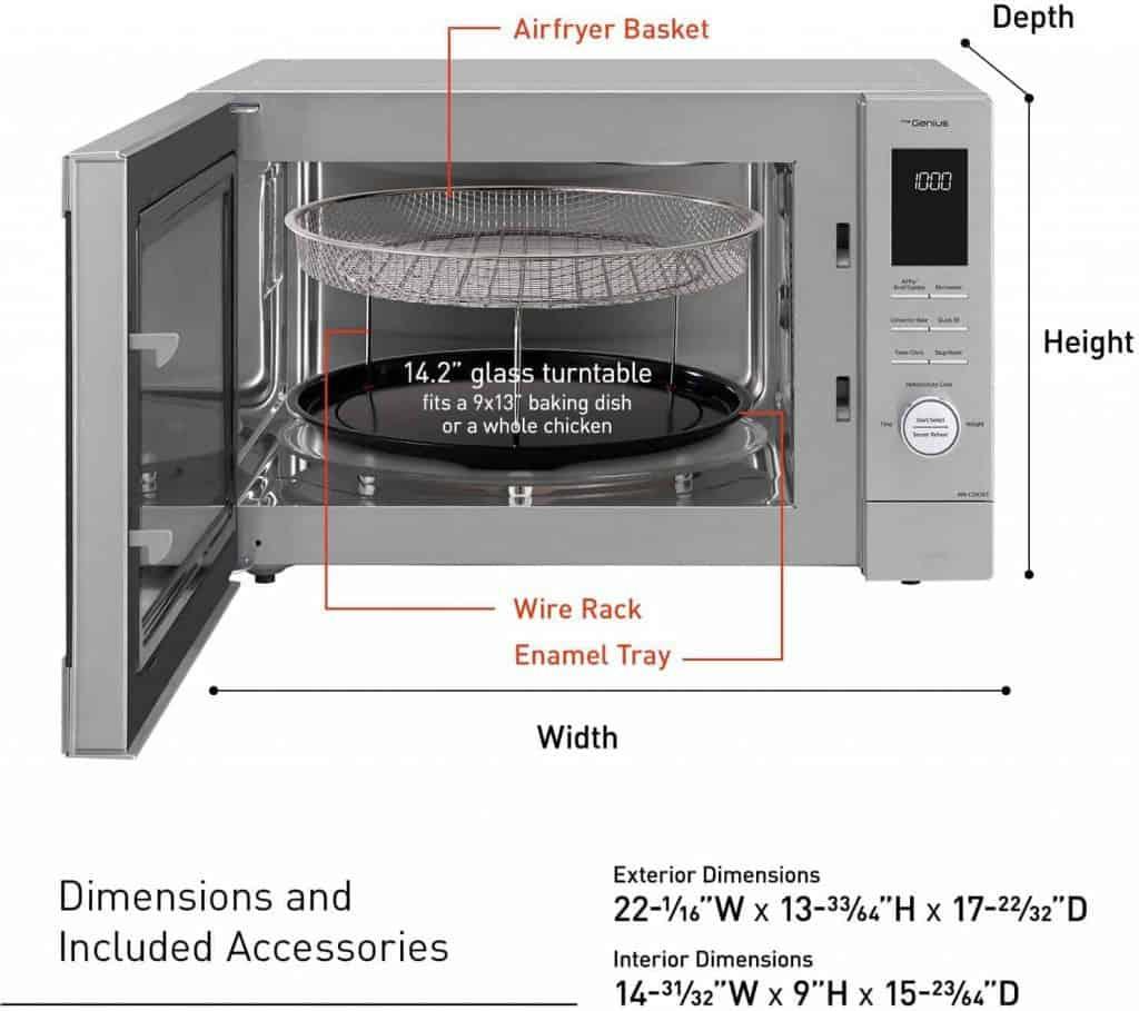 Panasonic NN-CD87KS Microwave Oven Review