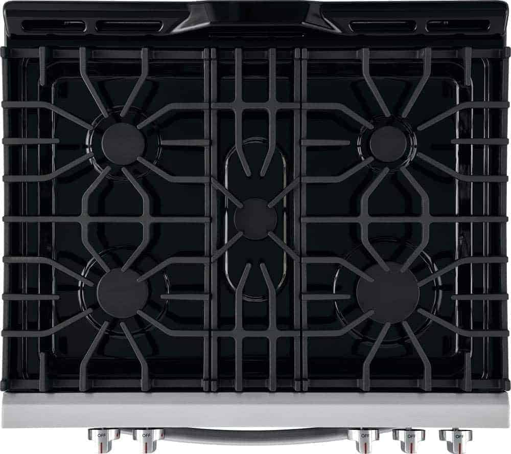 Frigidaire FFGH3054US 30 Inch Freestanding Gas Range with 5 Burners Review