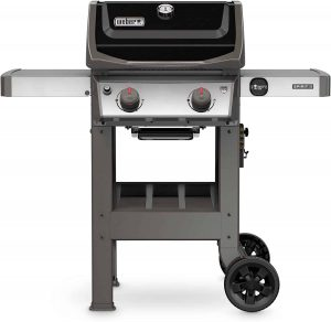 3. Weber 44010001 Spirit II E-210 2-Burner Liquid Propane Grill