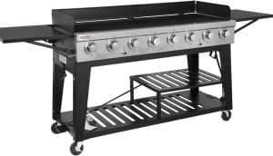 4. Royal Gourmet GB8000 8-Burner Liquid Propane Event Gas Grill
