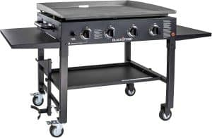 6. Blackstone 4 Burner Flat Top Gas Grill