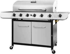 6. Royal Gourmet SG6002 Cabinet (6-Burner) Propane Gas Grill