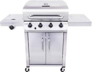 8. Char-Broil 4-Burner Cabinet Style Liquid Propane Gas Grill
