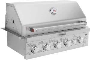 5. KitchenAid Propane Gas Grill