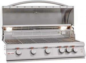 8. Blaze Premium 5-Burner Built-in Natural Gas Grill