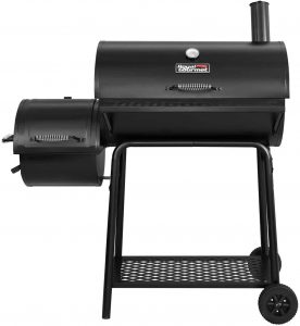 2. Royal Gourmet Charcoal Grill with Offset Smoker