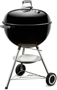 8. Weber Original Kettle (22-Inch) Charcoal Grill