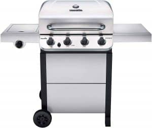 1. Char-Broil 4-Burner Cart Style Propane Gas Grill