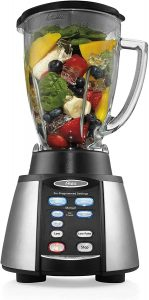 3. Oster Reverse Crush Counter-forms Blender, (6-Cup Glass Jar)