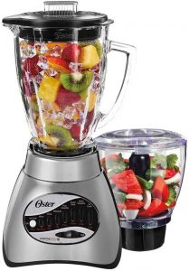 4. Oster Core 16-Speed Blender with Glass Jar