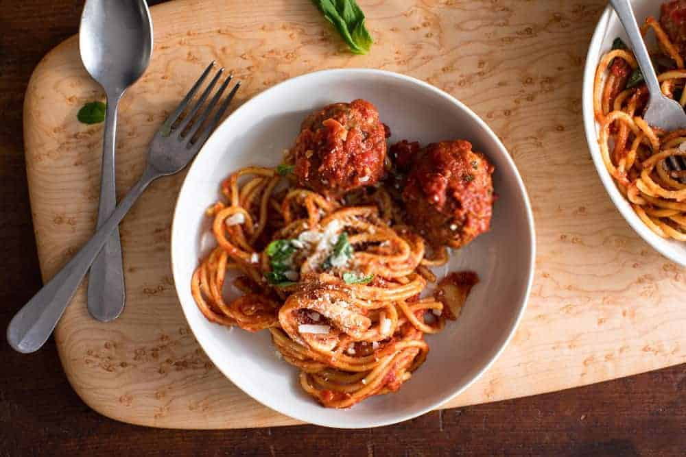 Classic Italian Meatballs Recipe - Easy Italian Meatballs Recipe