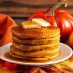 Grandma's Pumpkin Oatmeal Pancakes Recipe