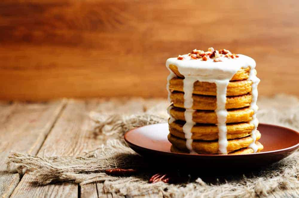 Healthy Carrot Cake Pancakes Recipe – Easy Carrot Cake Pancakes