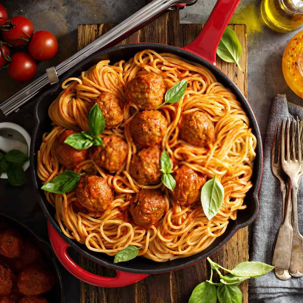 Italian Spaghetti and Meatballs Recipe - authentic italian meatball recipes from italy